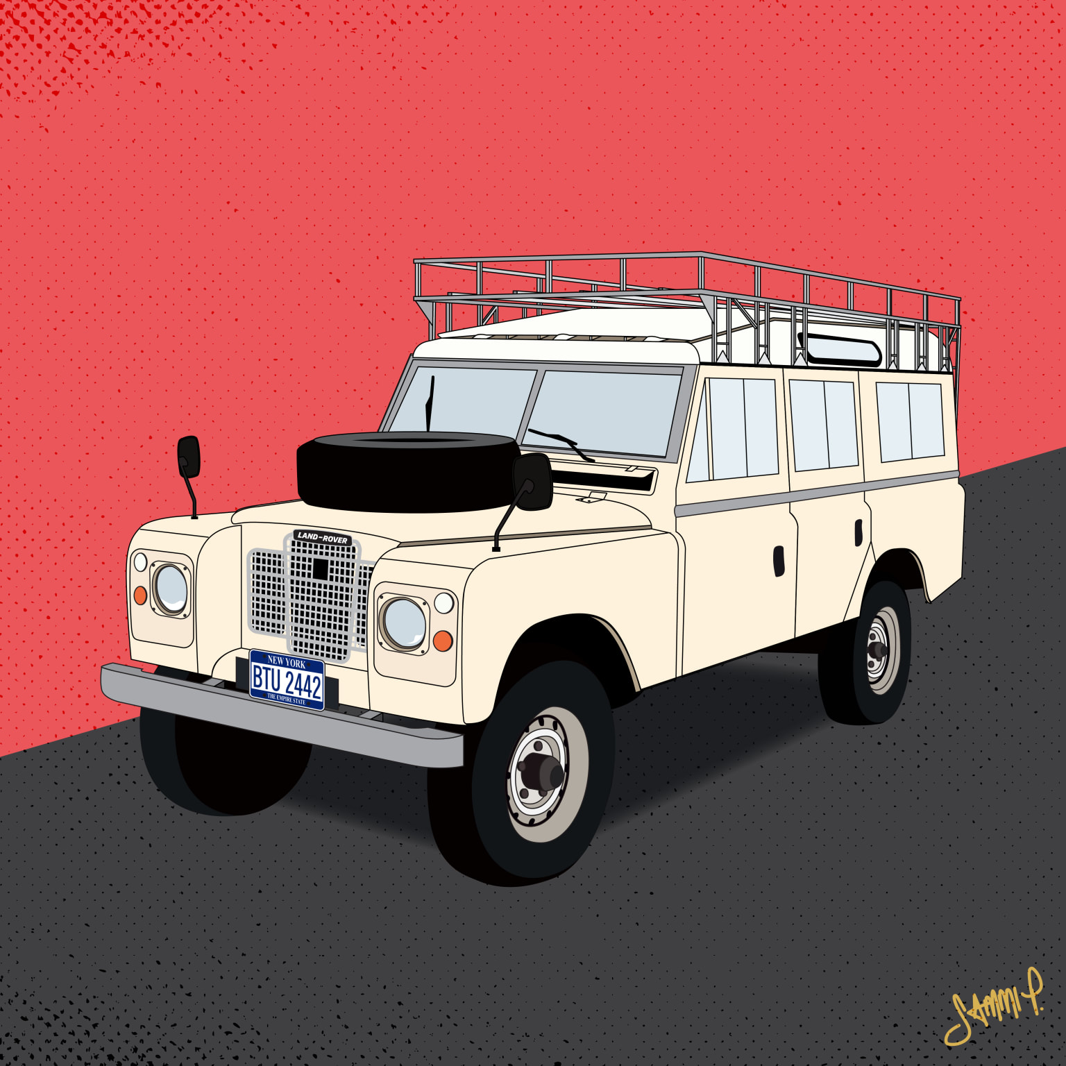 1972 Series 2 109 Land Rover