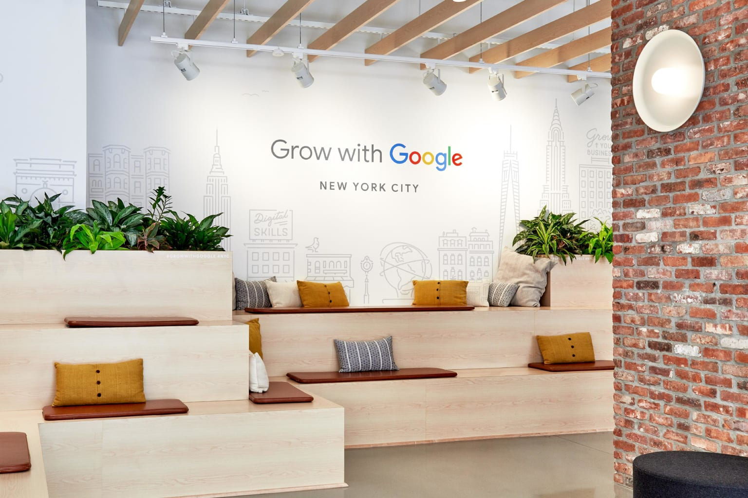 Grow with Google NYC Learning Center