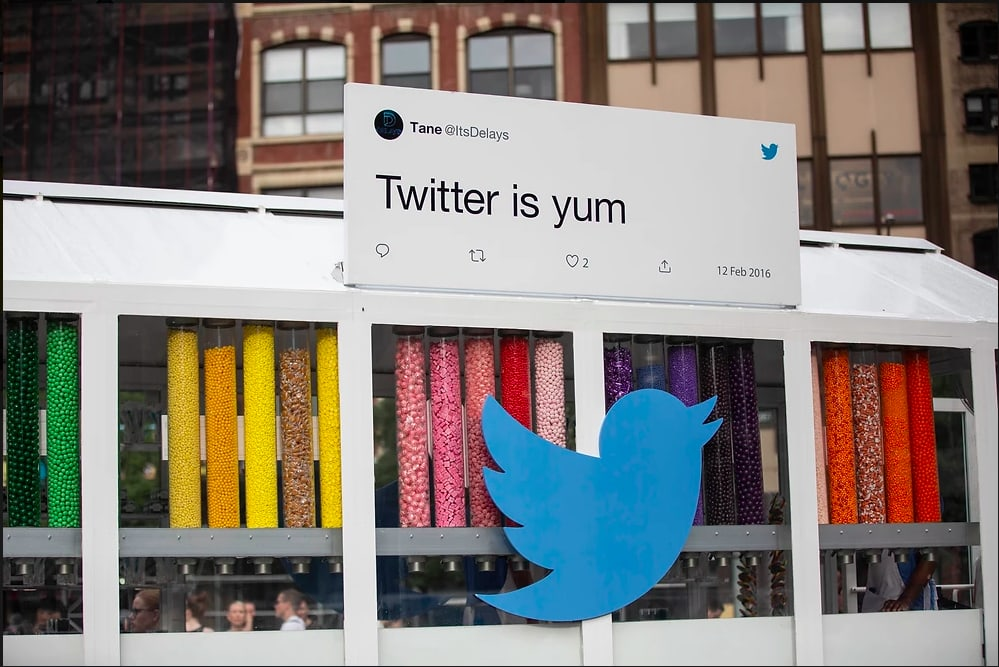 Twitter Candy Store