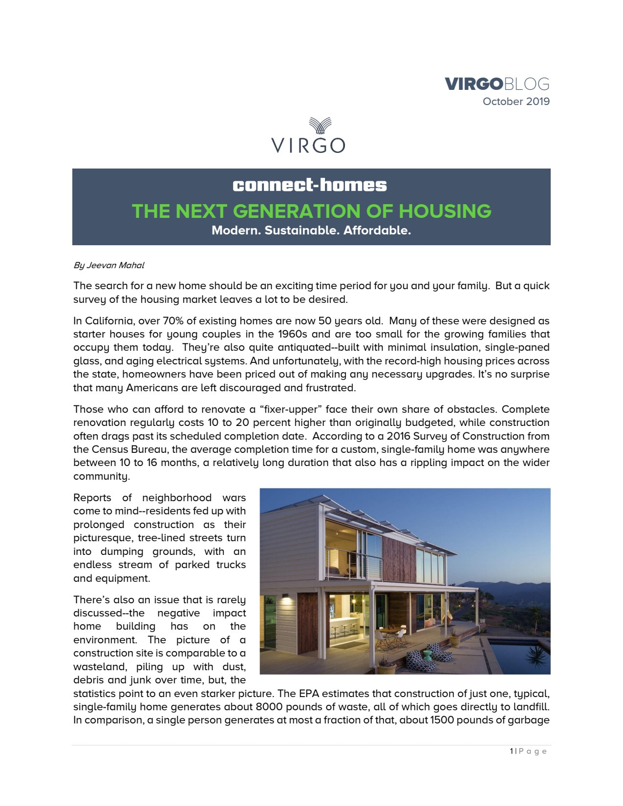 Connect Homes Editorial