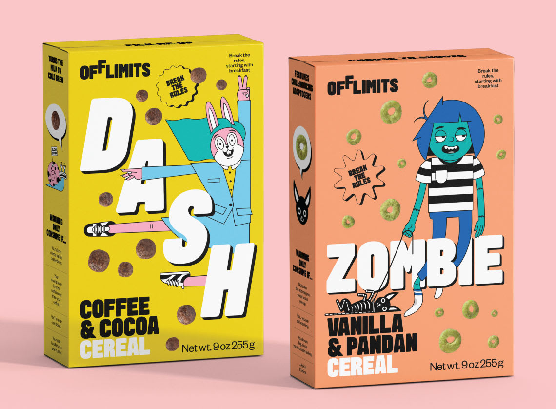 OffLimits Cereal Characters