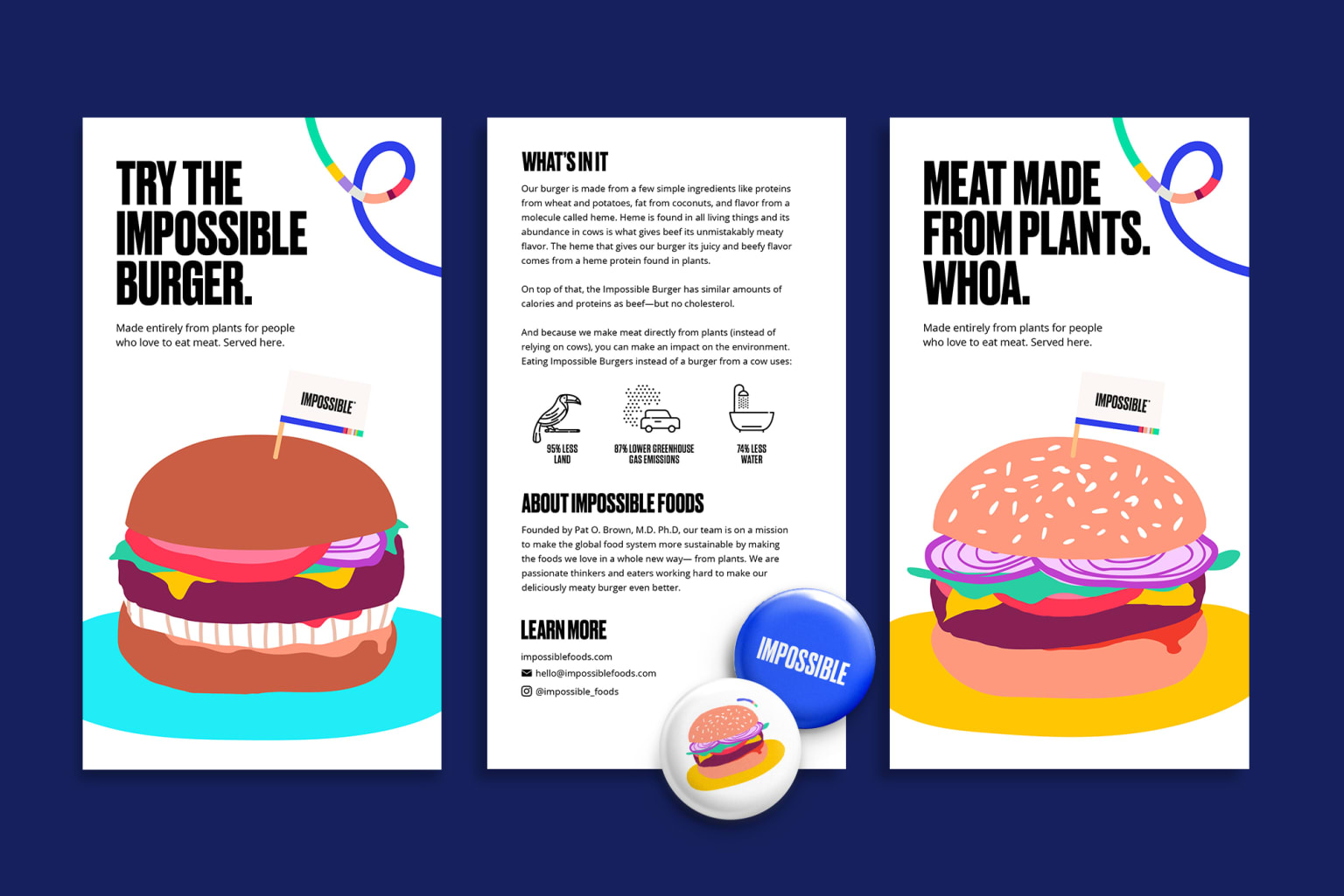 Impossible Foods Collateral