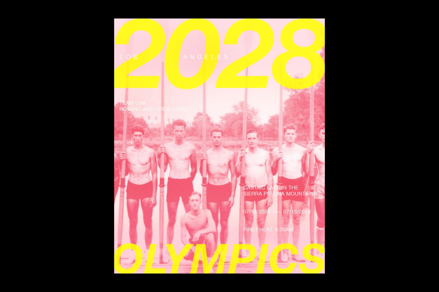 2028 Los Angeles Olympics Posters