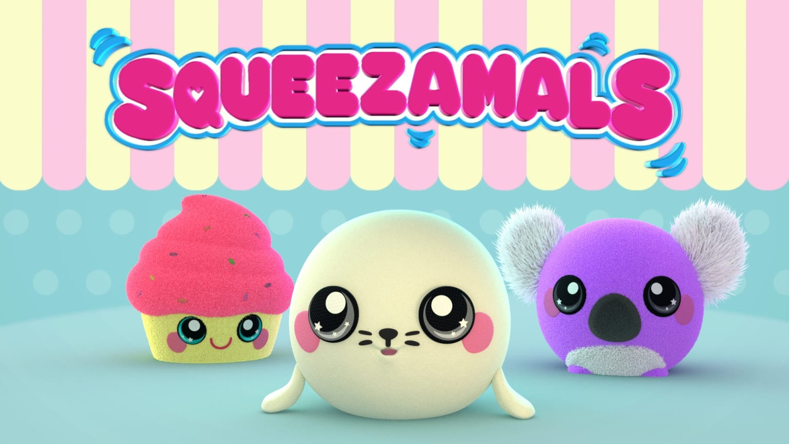 Squeezamals - Toy Commercial