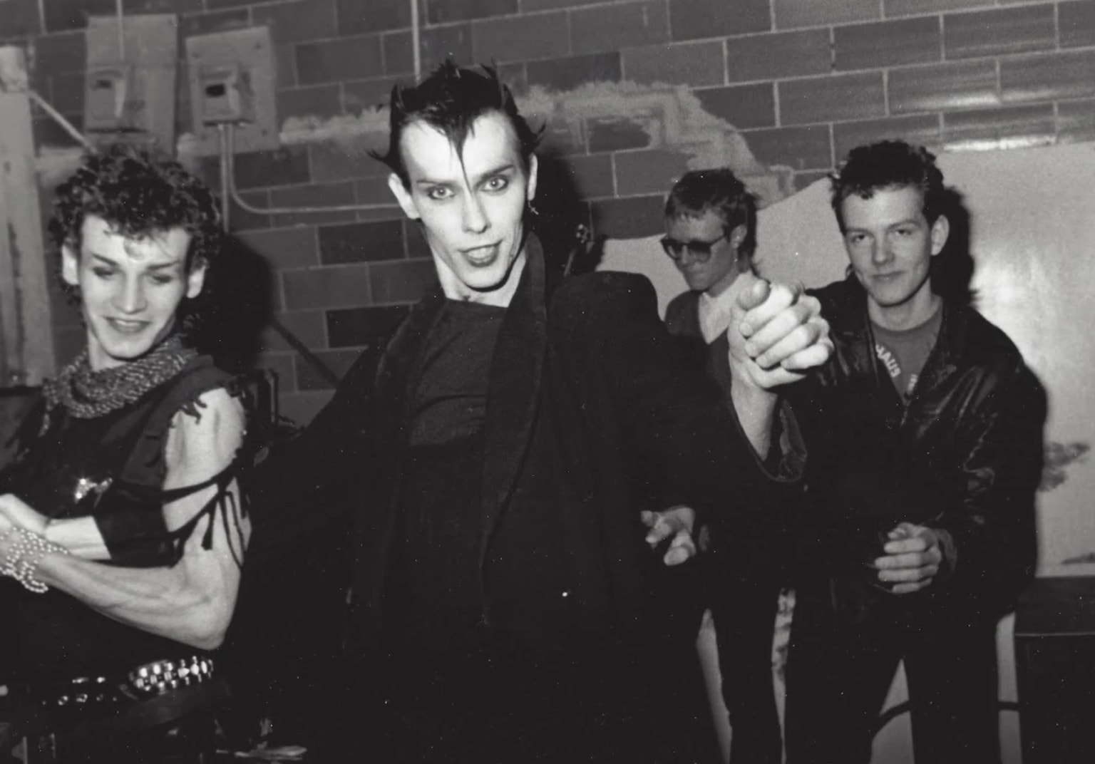 Bauhaus' Kevin Haskins Digs Up the Past in a New Art Book, 'Bauhaus - Undead'