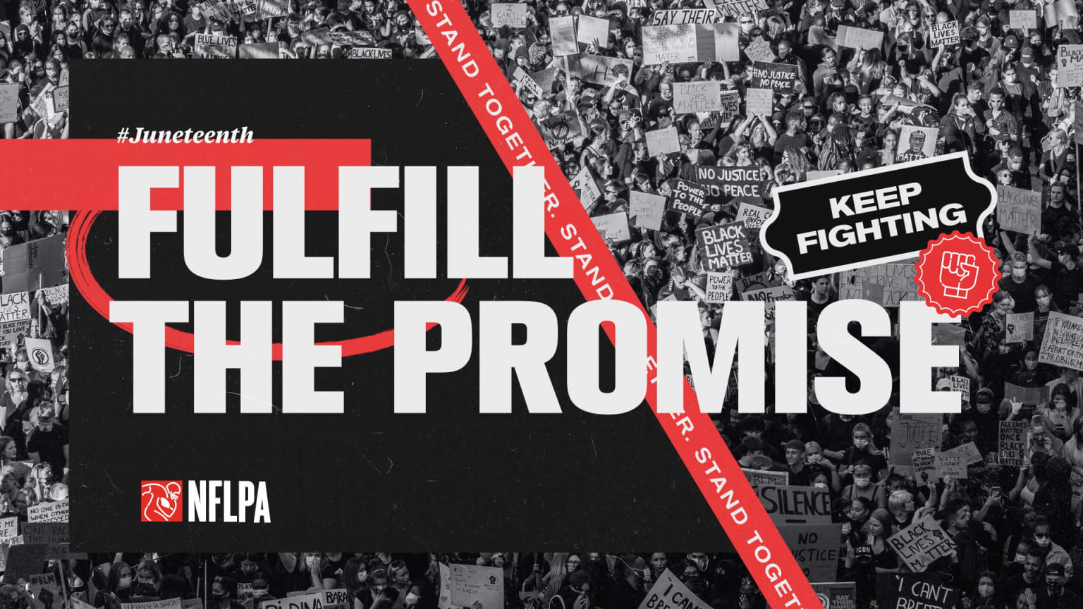 """NFLPA """"Juneteenth: Fulfill The Promise"""""""