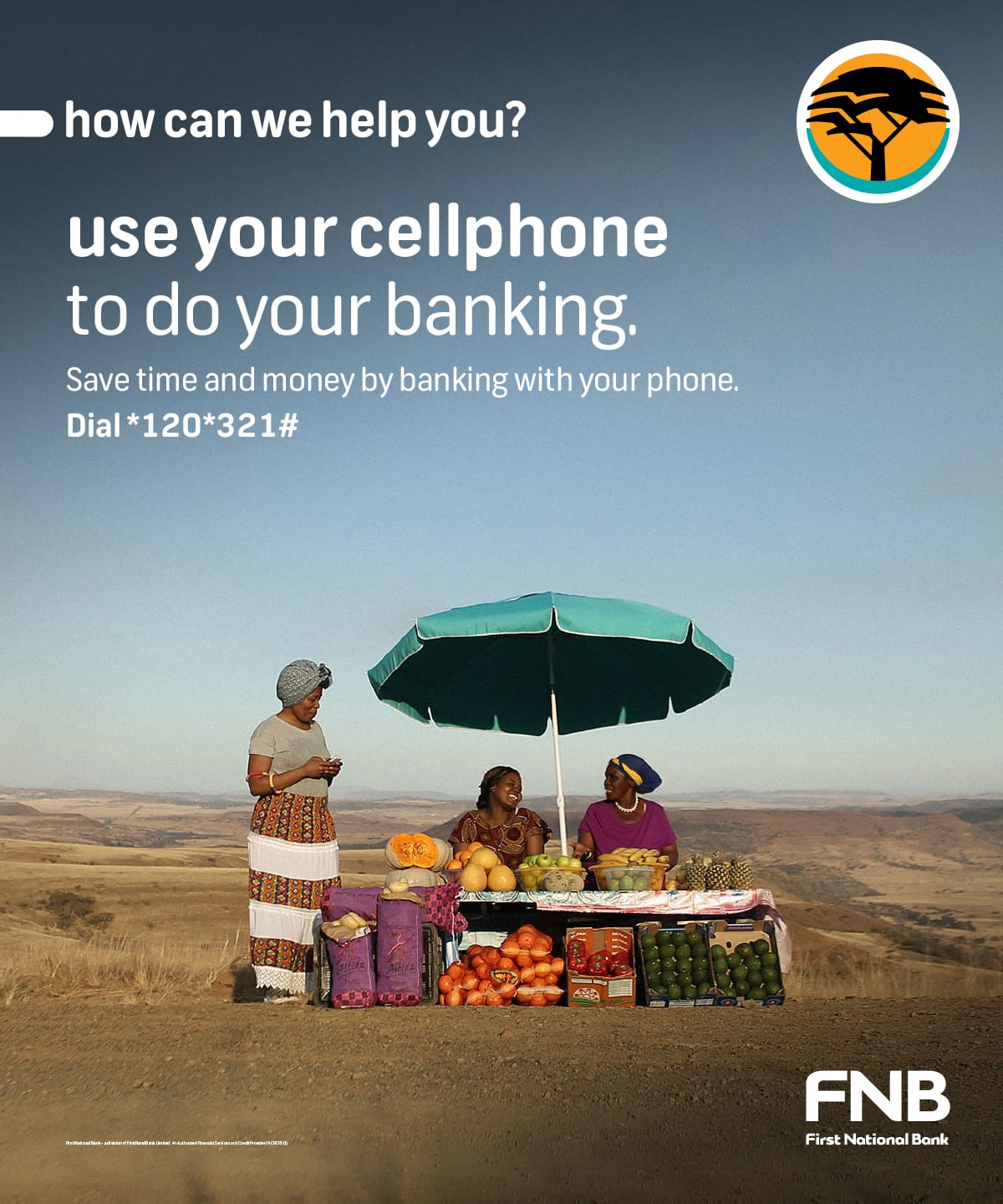 First National Bank branding and art direction
