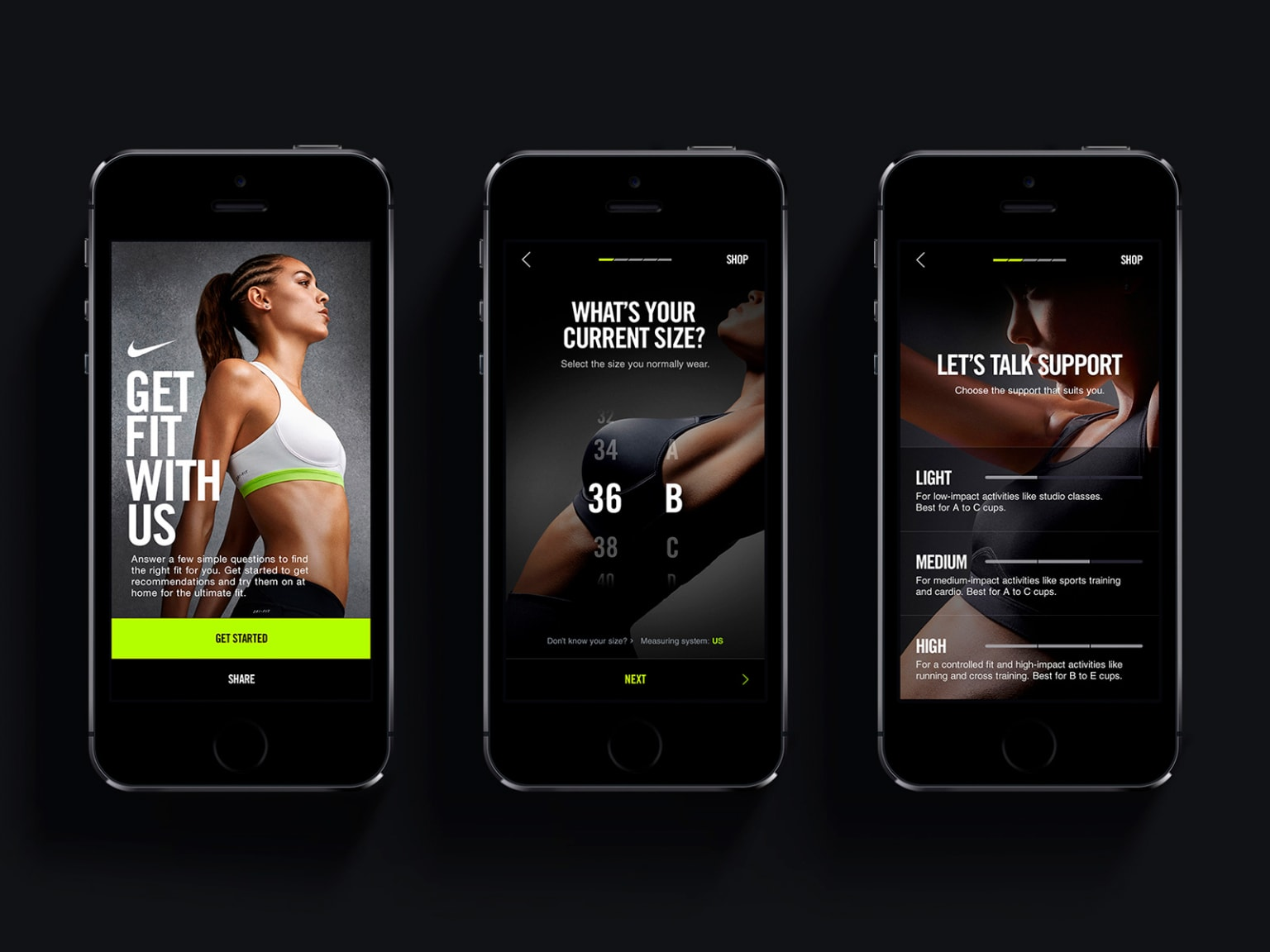 Nike Pro 360 Fit System