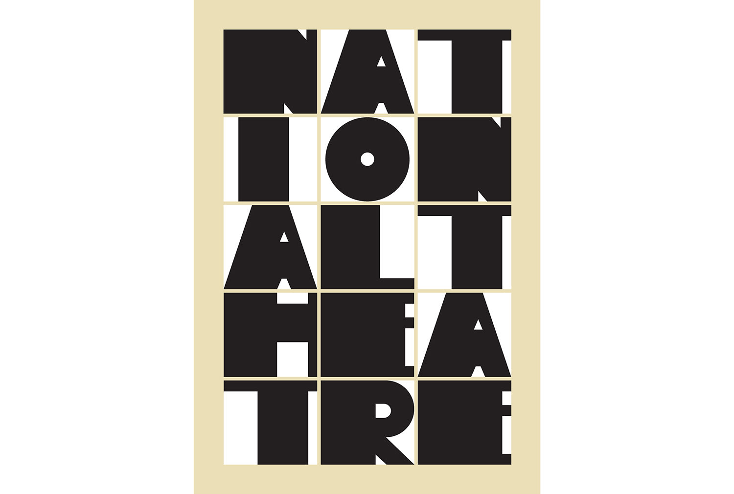 National Theatre 50th Anniversary Poster