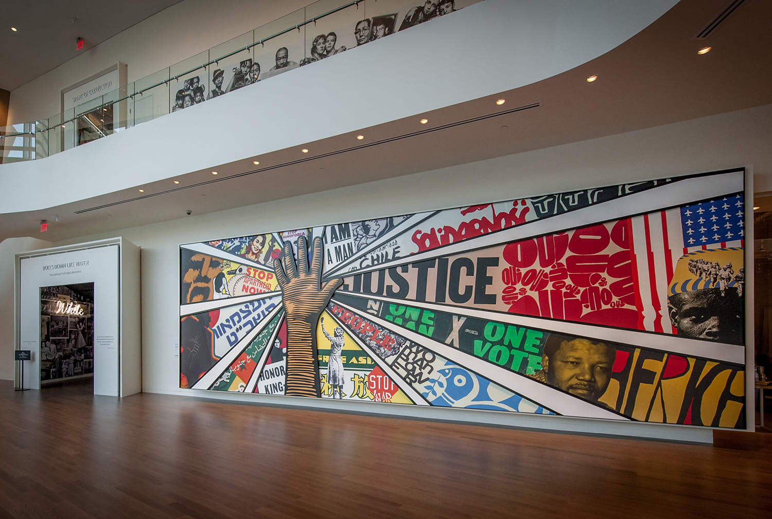 National Center for Civil and Human Rights Mural