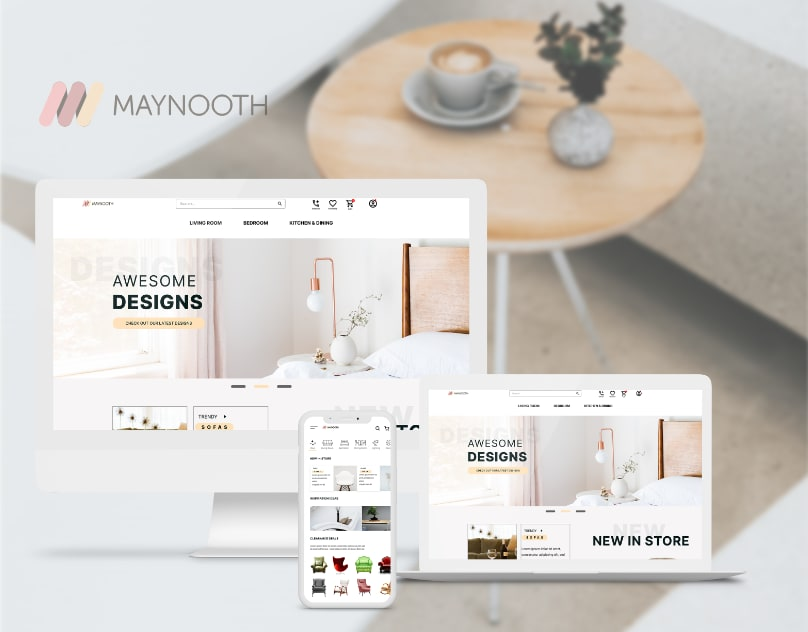 e-Commerce Website and App