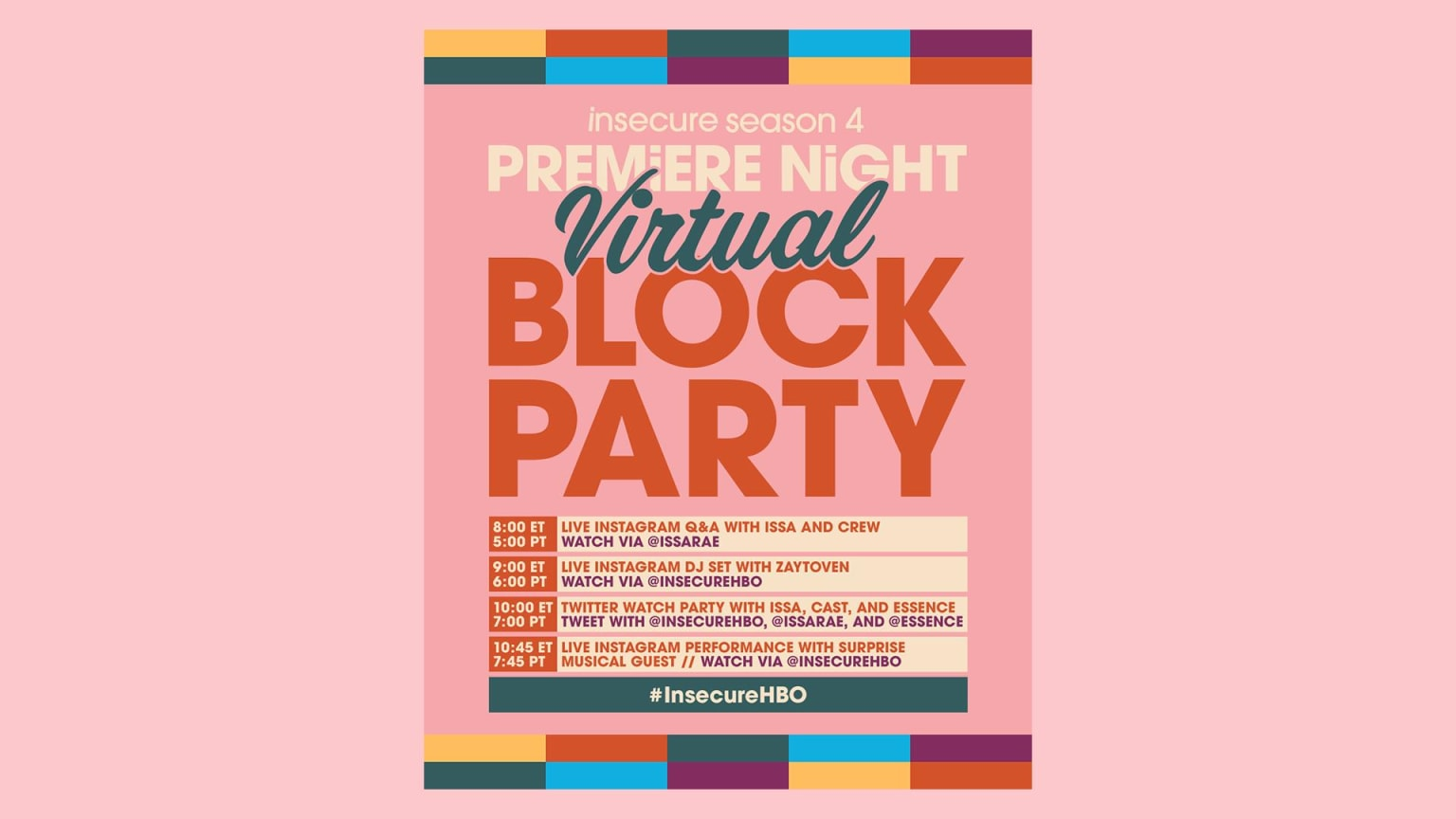 Insecure Virtual Block Party