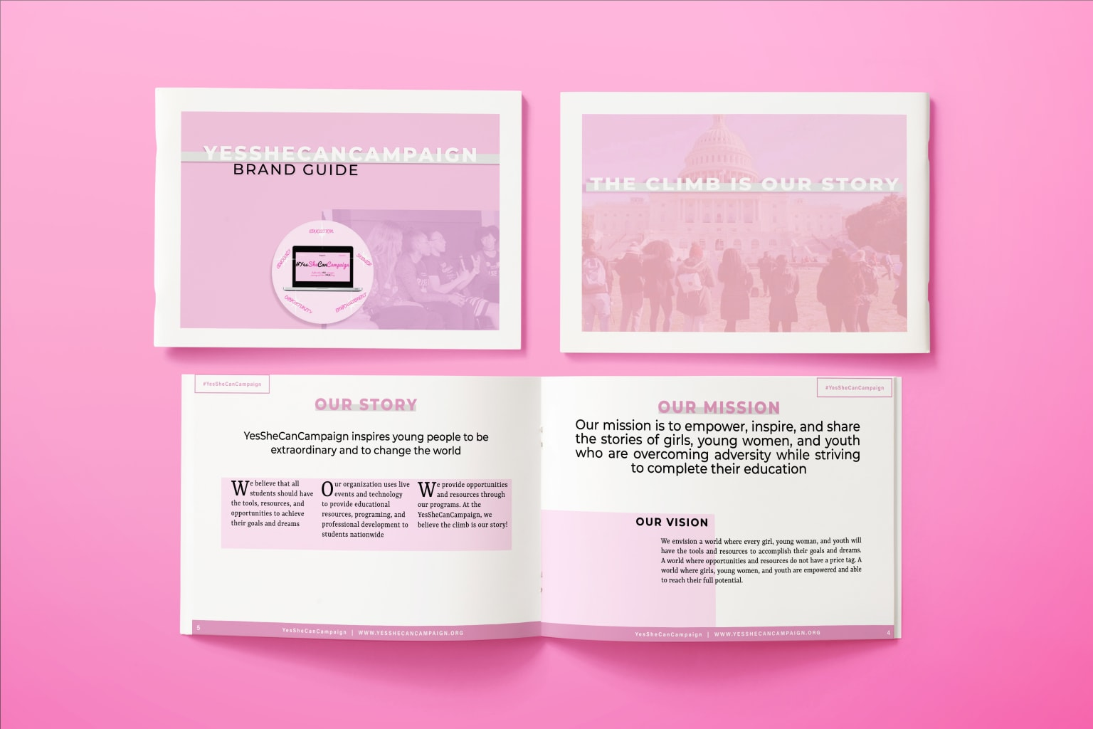 YesSheCanCampaign Brand Guidelines