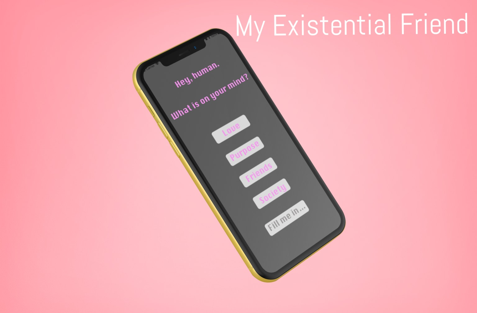 My Existential Buddy
