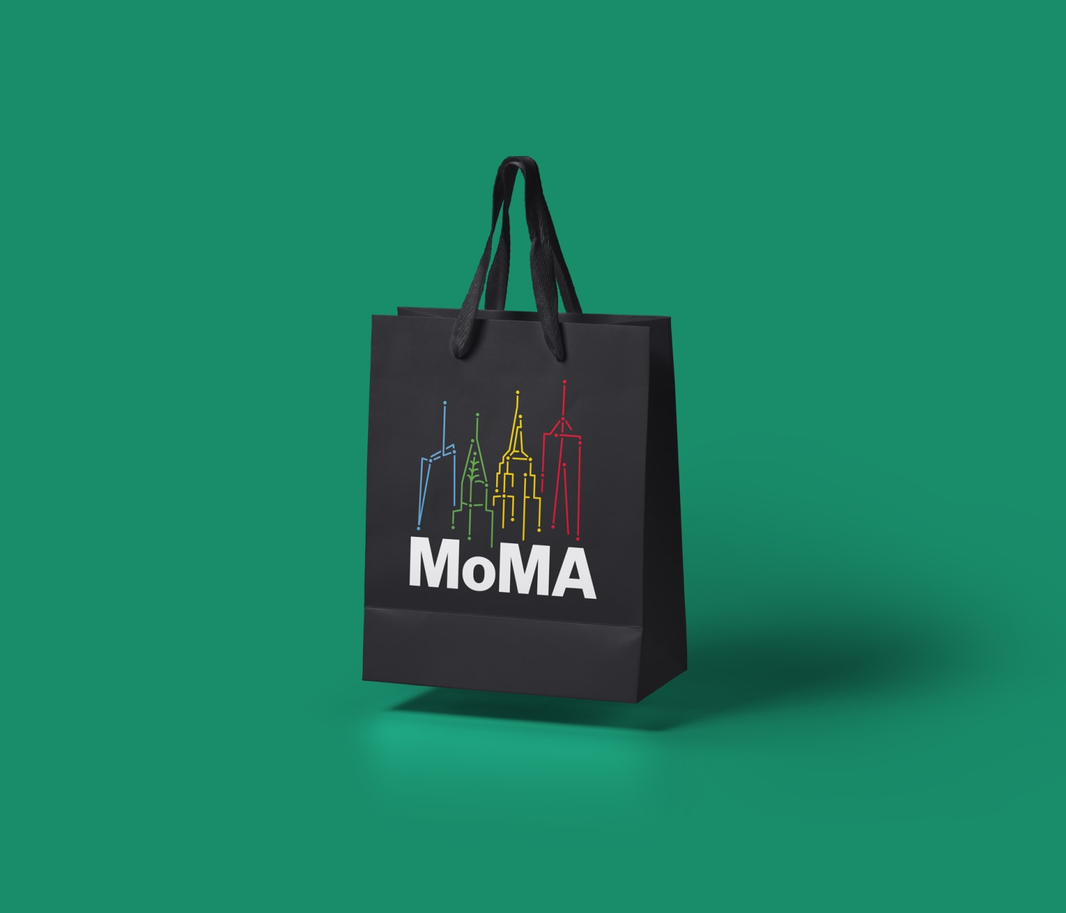 Logo for the MoMA Design Store