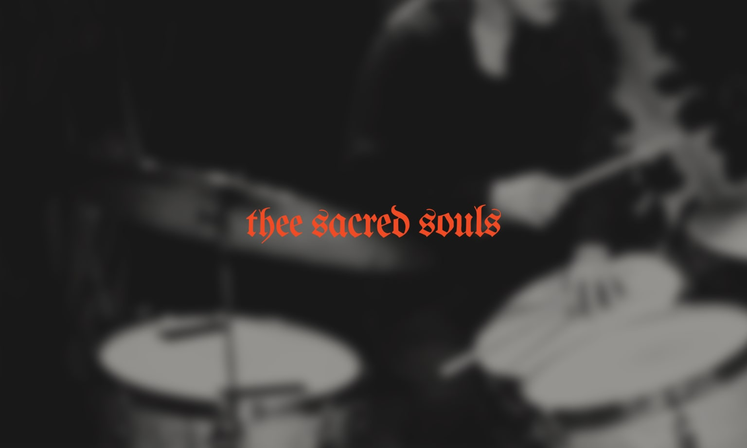 Thee Sacred Souls (Creative Direction + Branding)
