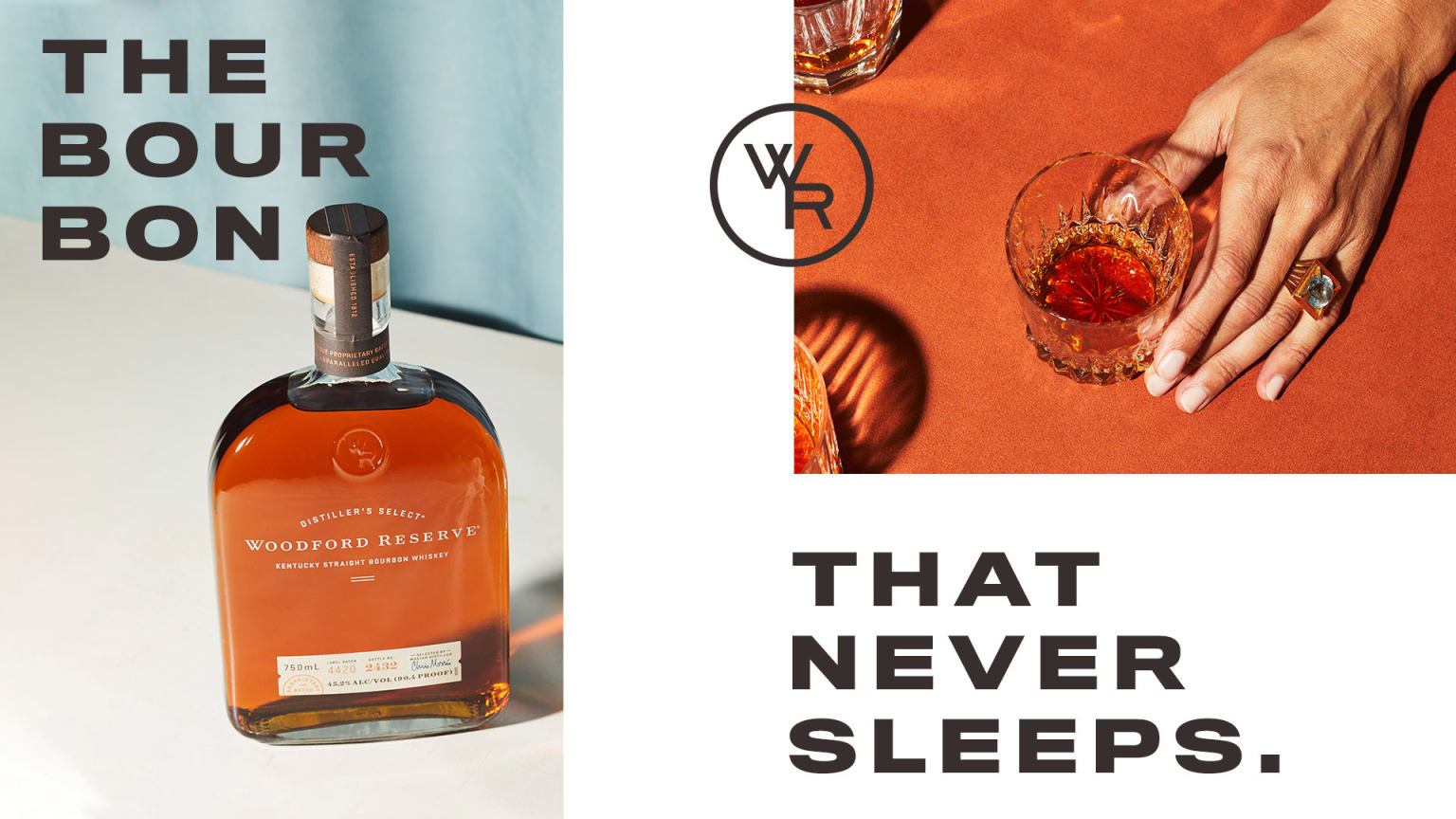 Woodford Reserve Campaign Launch Design Direction