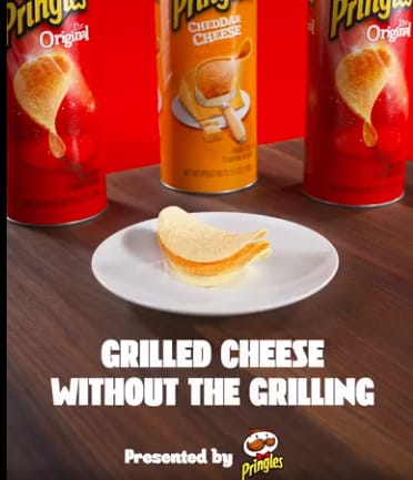 Pringles | Grilled Cheese Without the Grilling