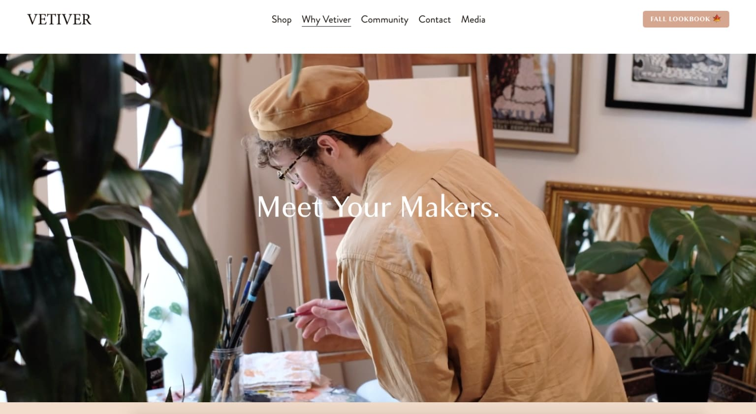 """Vetiver Collective """"Makers"""" Video Reel"""