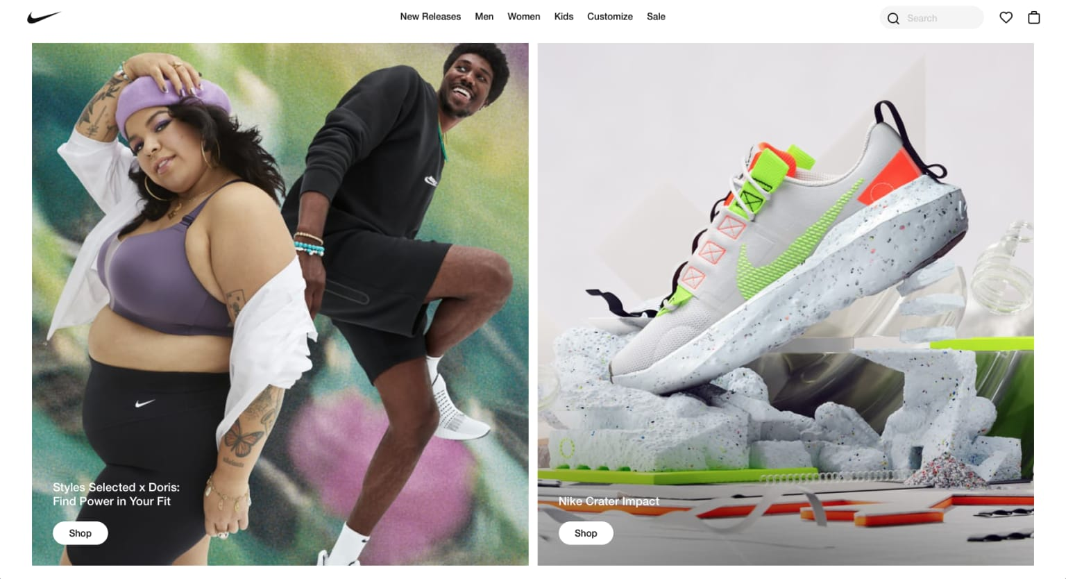 Nike Selected X 2020 Campaign