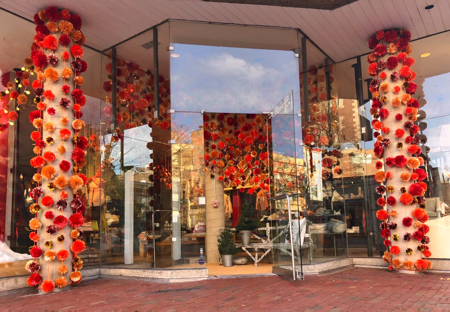 Anthropologie Window and Store Displays