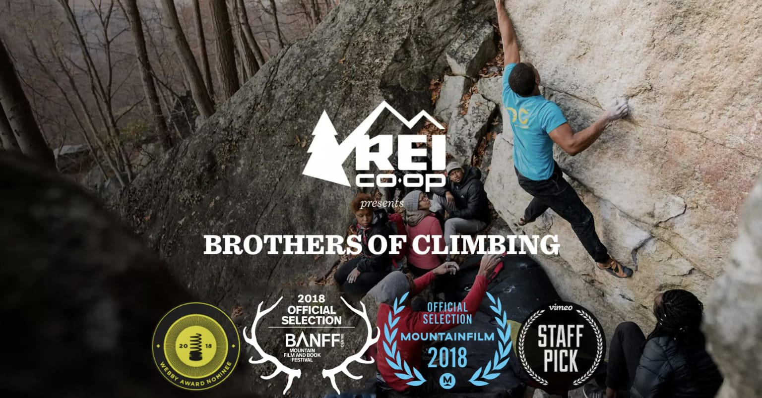 """REI   """"Brothers of Climbing"""""""