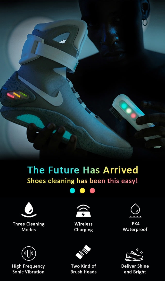 SupBro Sneaker Kickstarter Product Campaign - The UltraSonic Electric Sneaker Cleaner