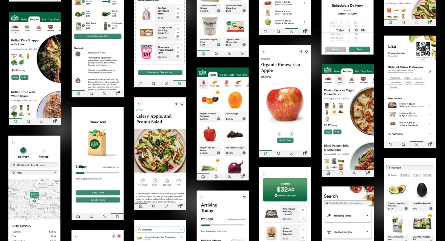 Redesigning the Whole Foods Market App