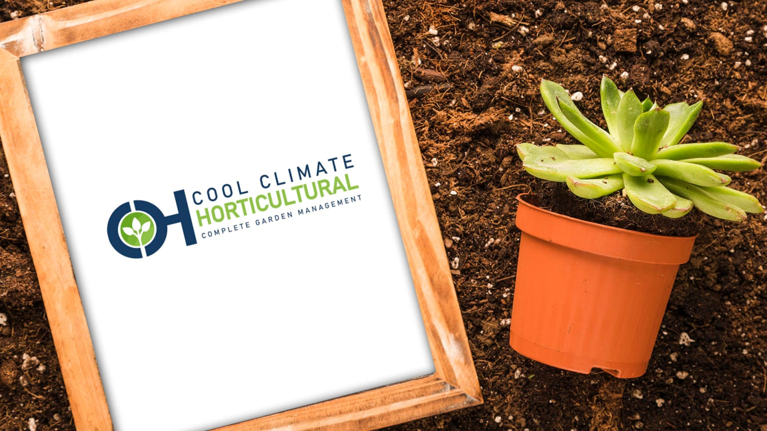 Cool Climate Horticultural Services Logo design