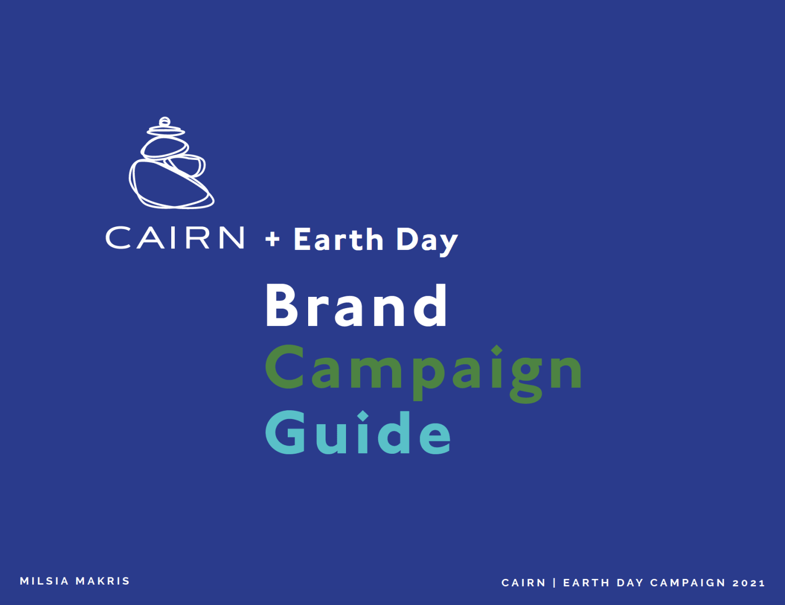 CAIRN + Earth Day Pitch Deck