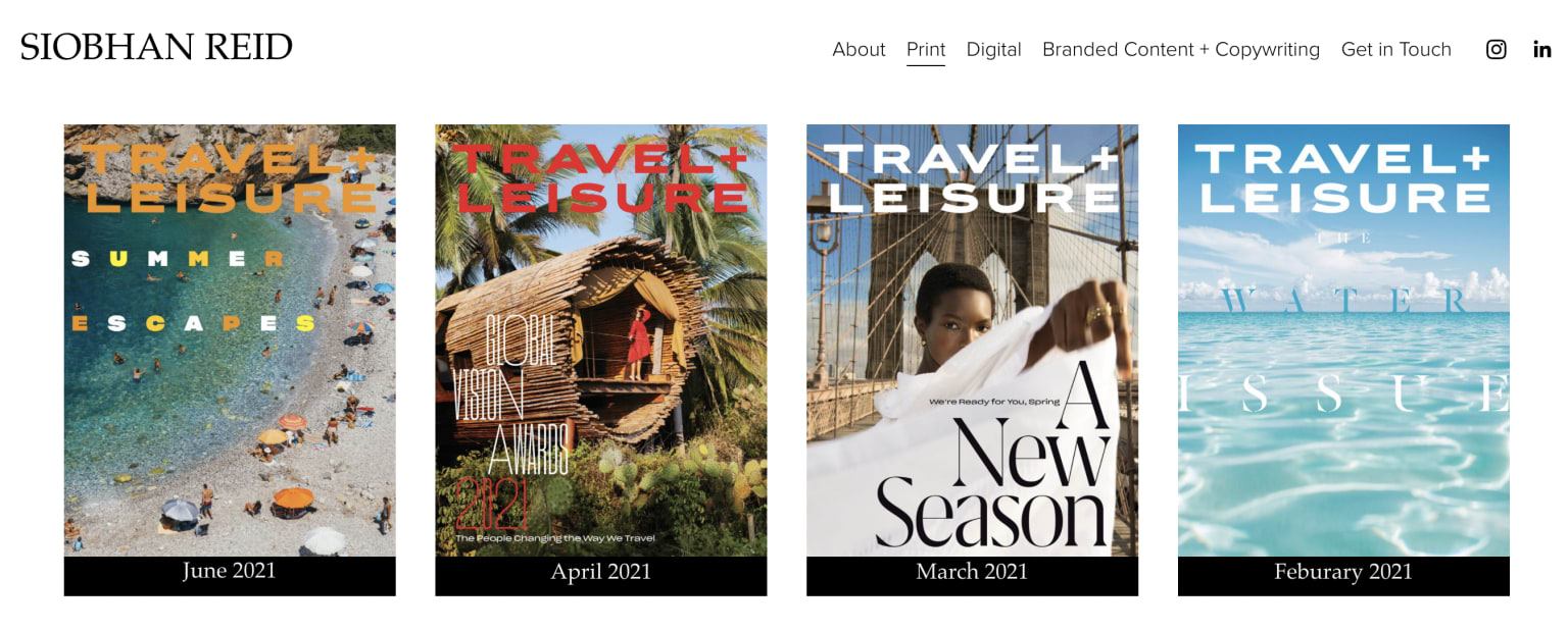 Editing Travel + Leisure's Discoveries Section