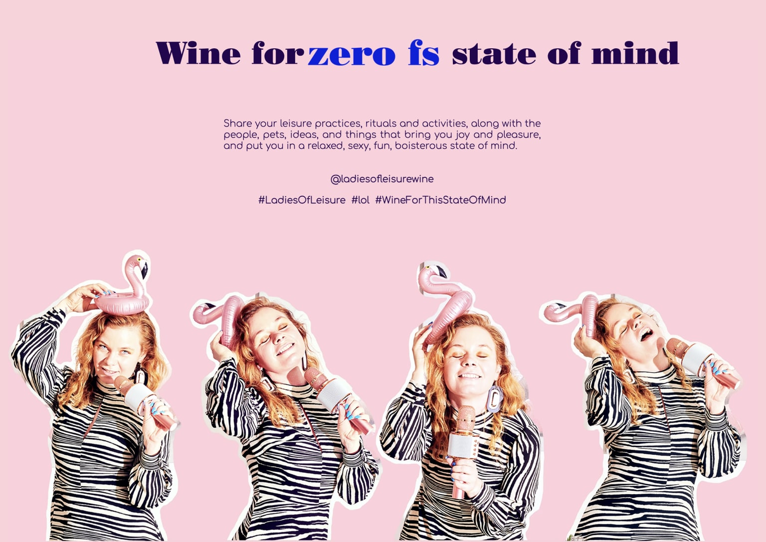 Ladies of Leisure Wine Web Launch Campaign