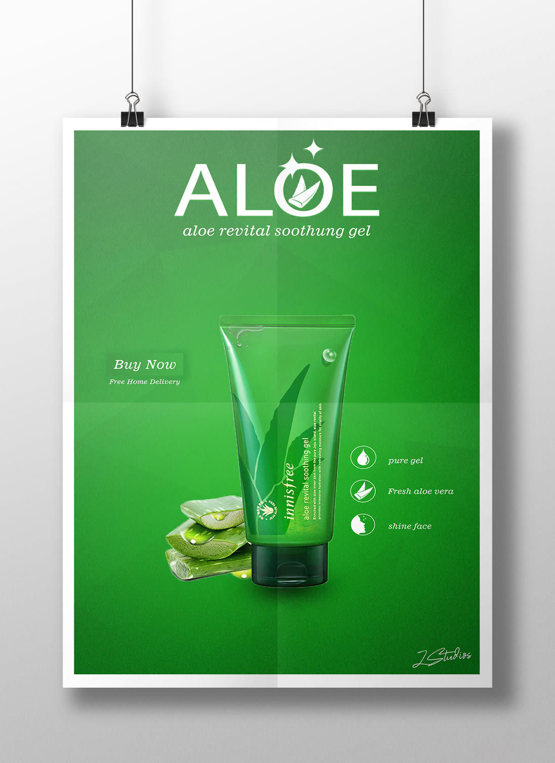 Aloe Product poster