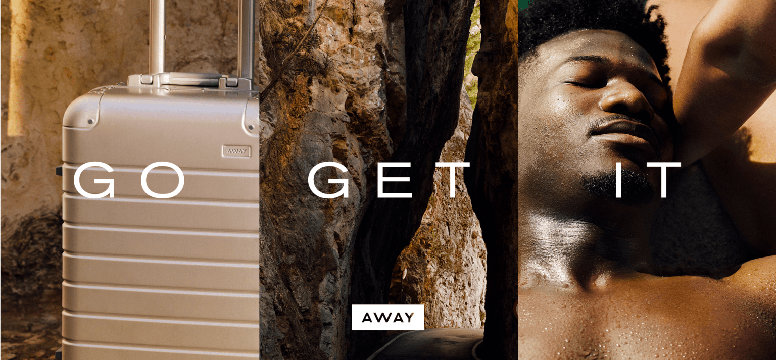 Go Get it, Away's 2019 Brand Campaign