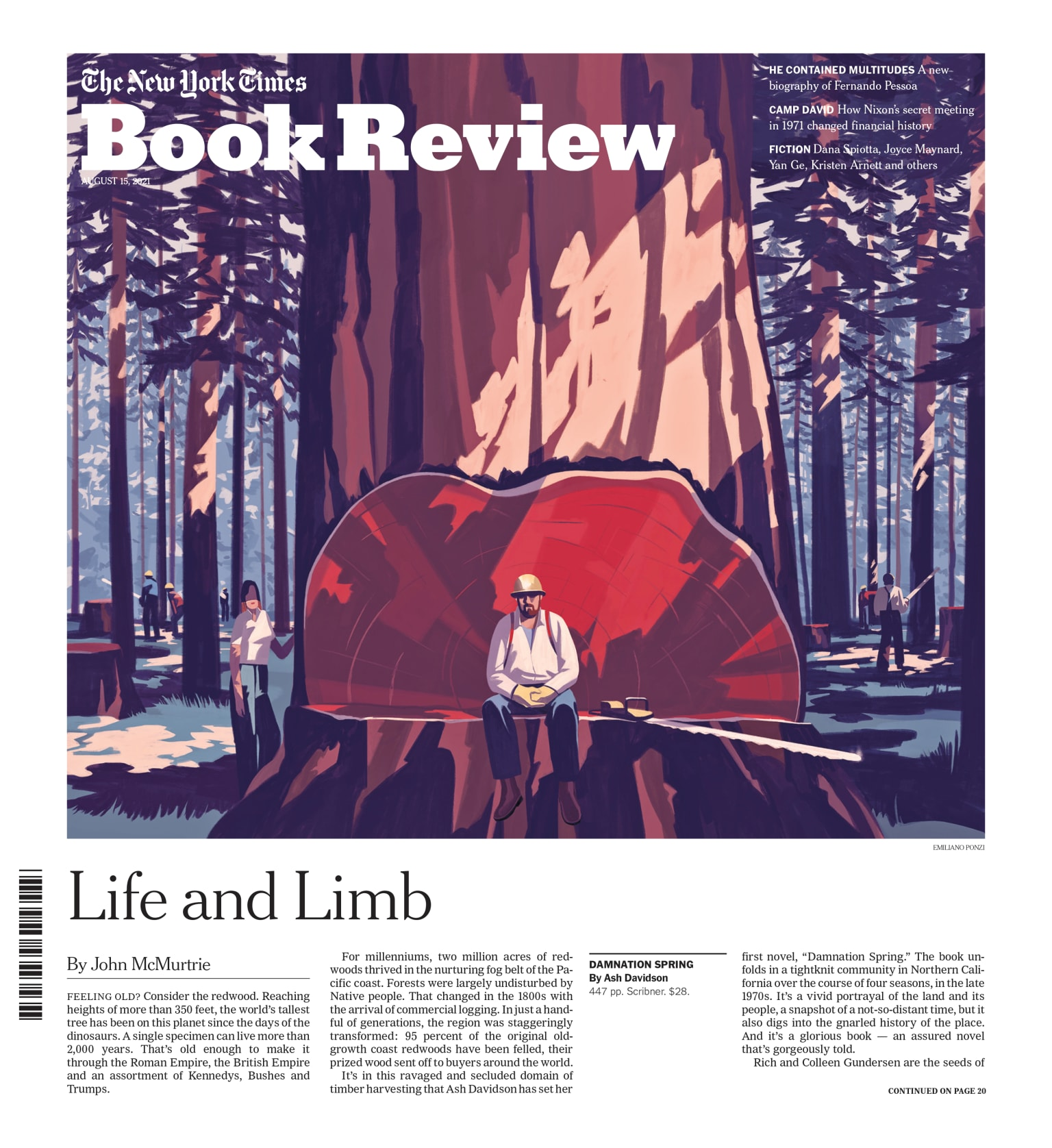 Life and Limb • The New York Times Book Review cover