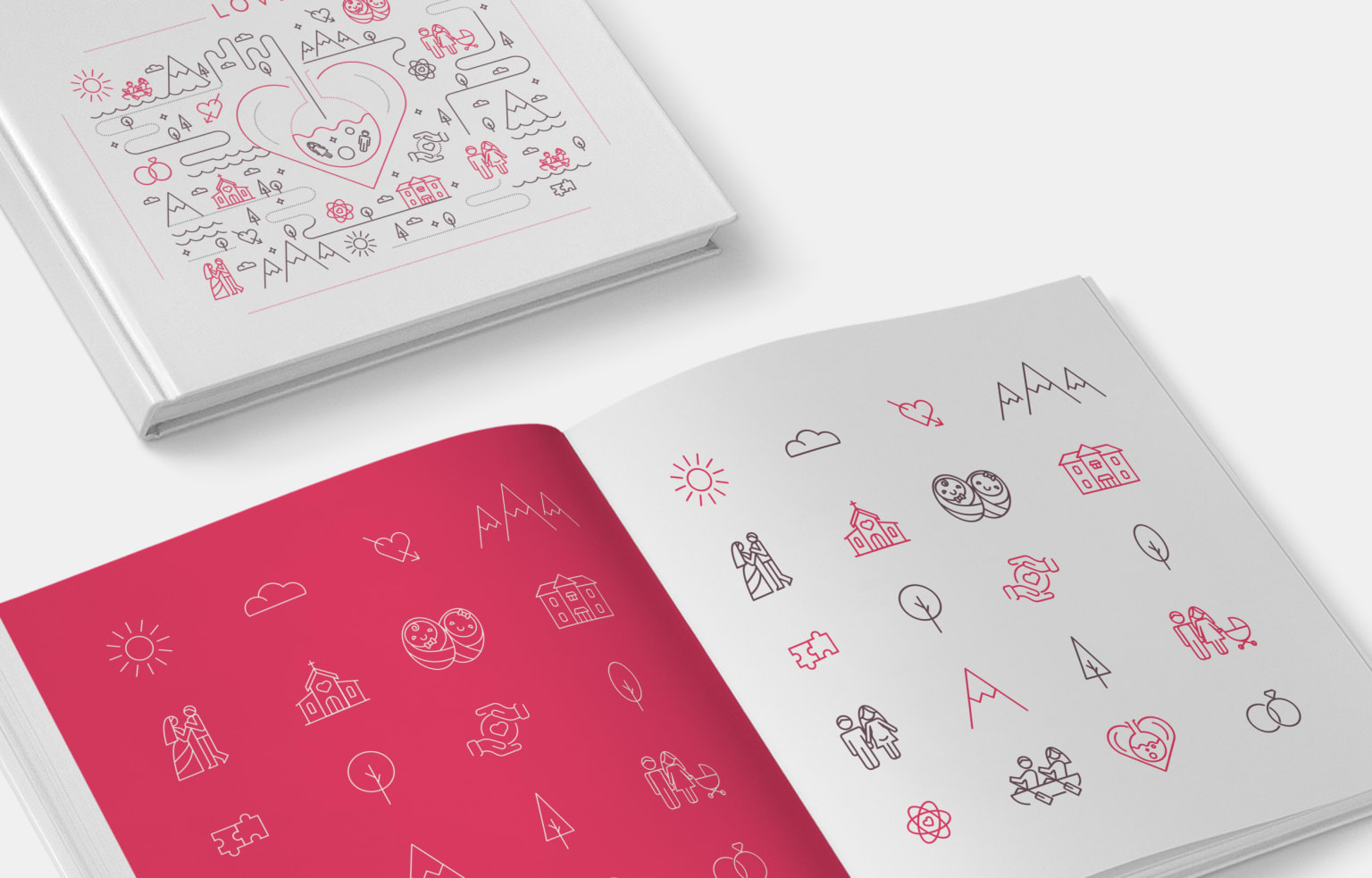 Love - Notebook Cover