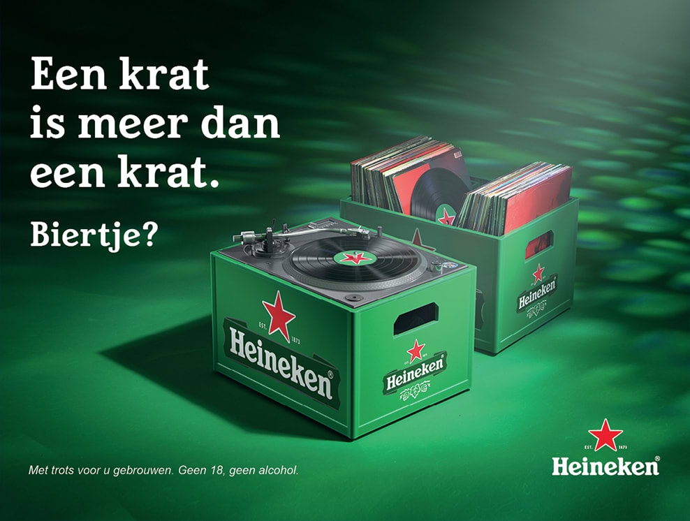 Heineken - a crate is more than a crate
