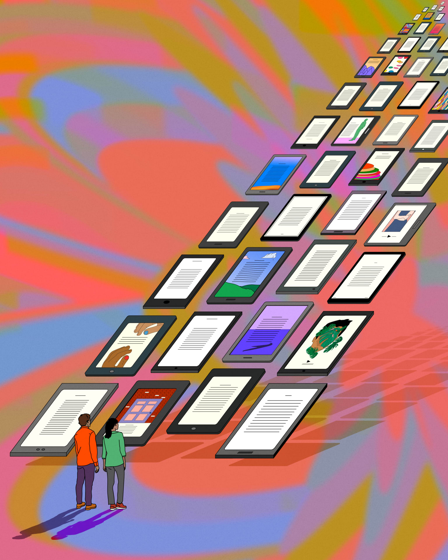 The New Yorker - The Surprisingly Big Business of Library E-books