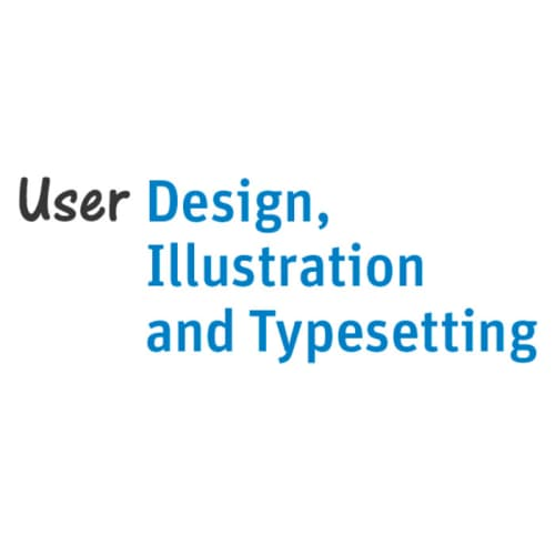 User Design, Illustration and Typesetting