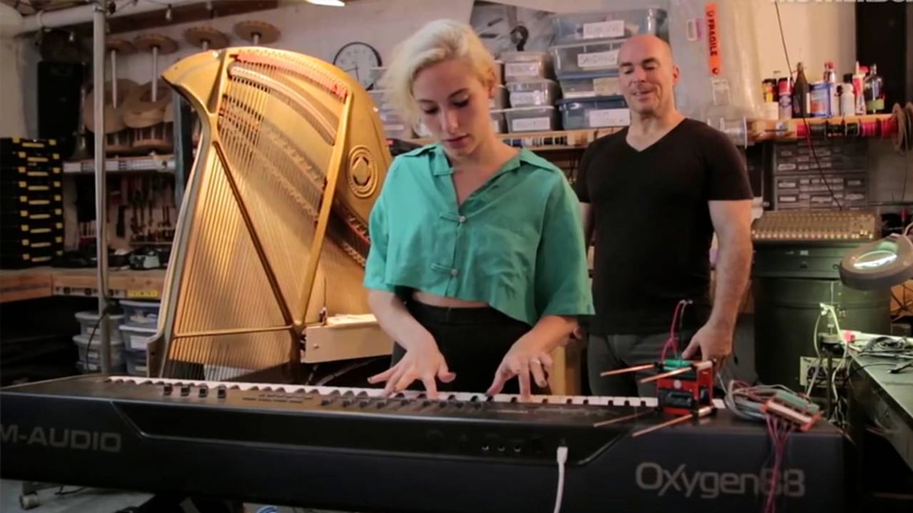 VICE Sound Builders: How to Build a Magnetized Piano Harp