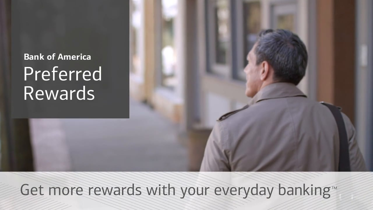 BANK OF AMERICA PREFERRED REWARDS PROGRAM