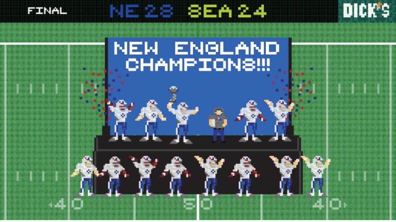 DICK'S #8bitreplay Super Bowl '15