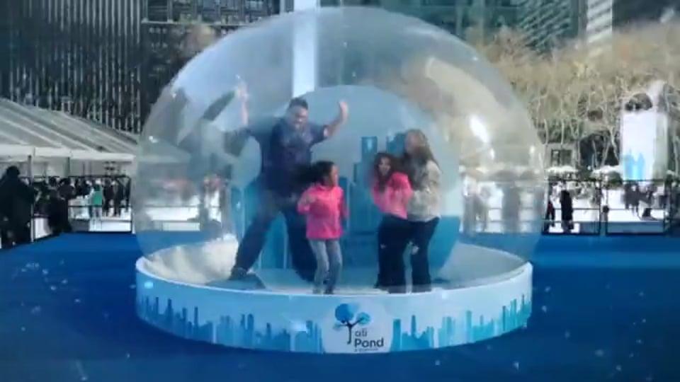 """Citi """"Snow Globe"""""""