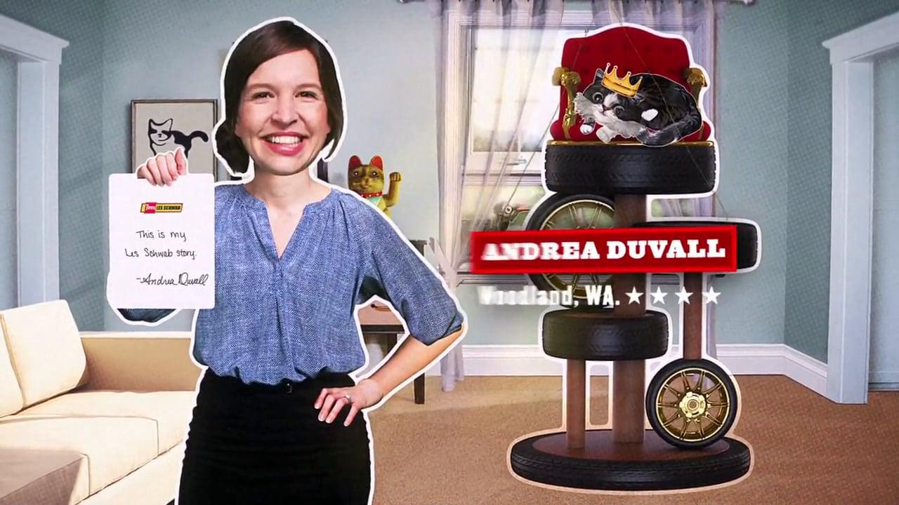 Les Schwab - Customer Letters TV