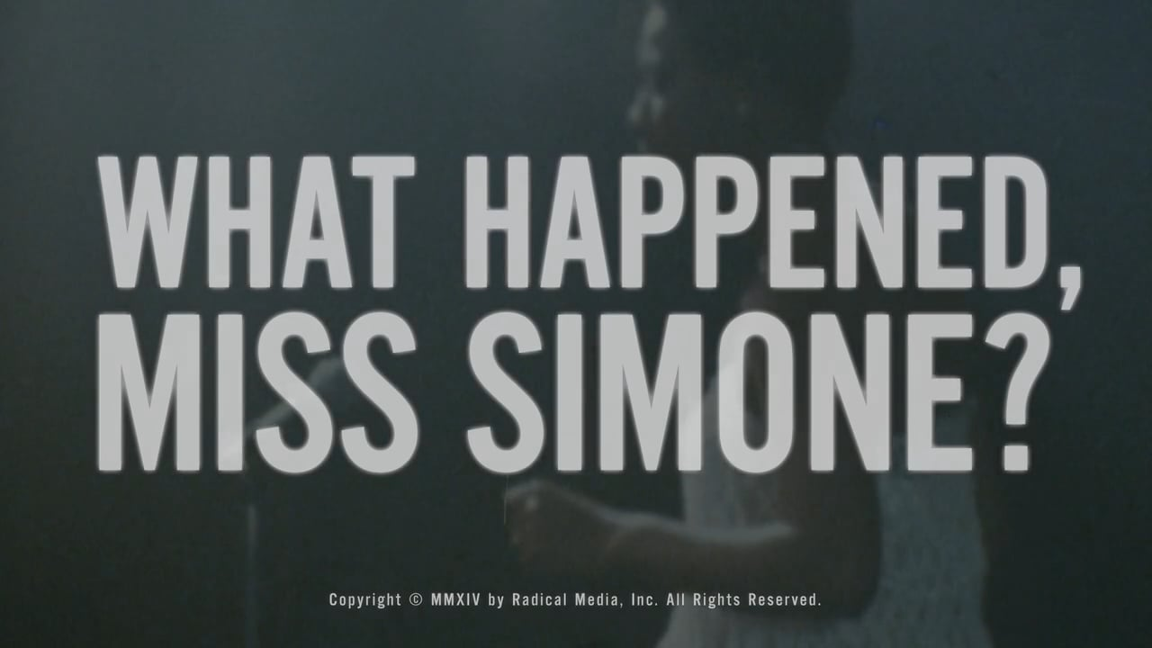 Title Design, What Happened, Miss Simone?