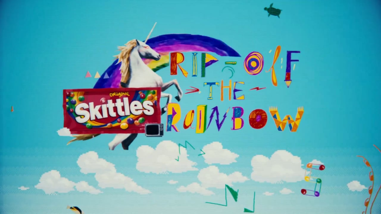 Skittles Rip-Off/Sour/Color/Blank The Rainbow
