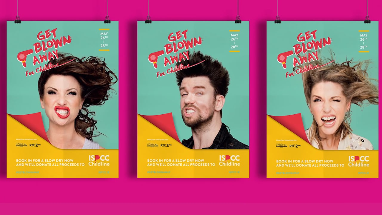 Get Blown Away For ISPCC Childline