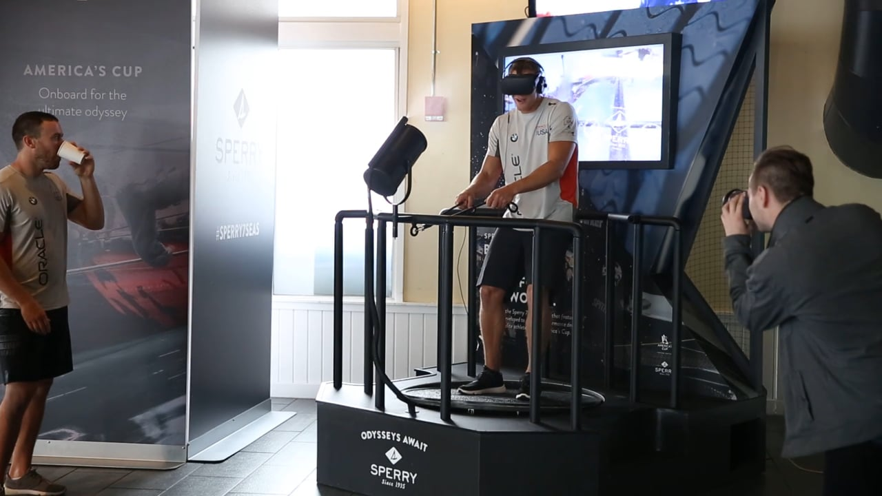 Sperry America's Cup VR Experience