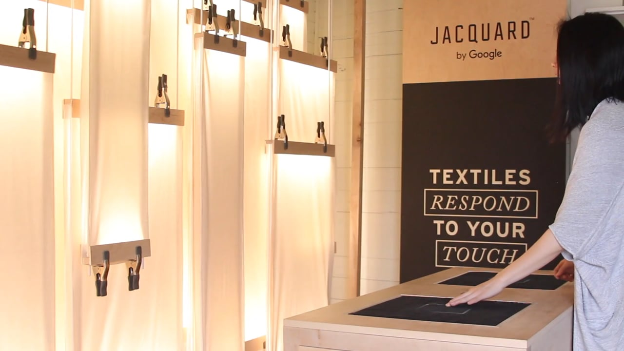 Levi's® ✕ Jacquard by Google Installation