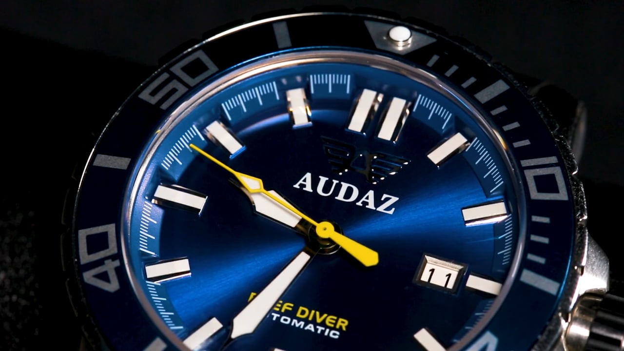 Audaz Reef Diver Luxury Diving Watch